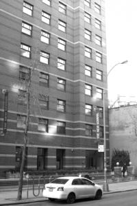 Loeb Hall, at 135 E 12th St., the first residence hall owned and operated by the university, opened in August 1989. It will no longer be available for students after the spring 2013 semester, and the University Residence Hall at 65 Fifth Ave. will provide students with dorms instead. (Lindsay Peters)
