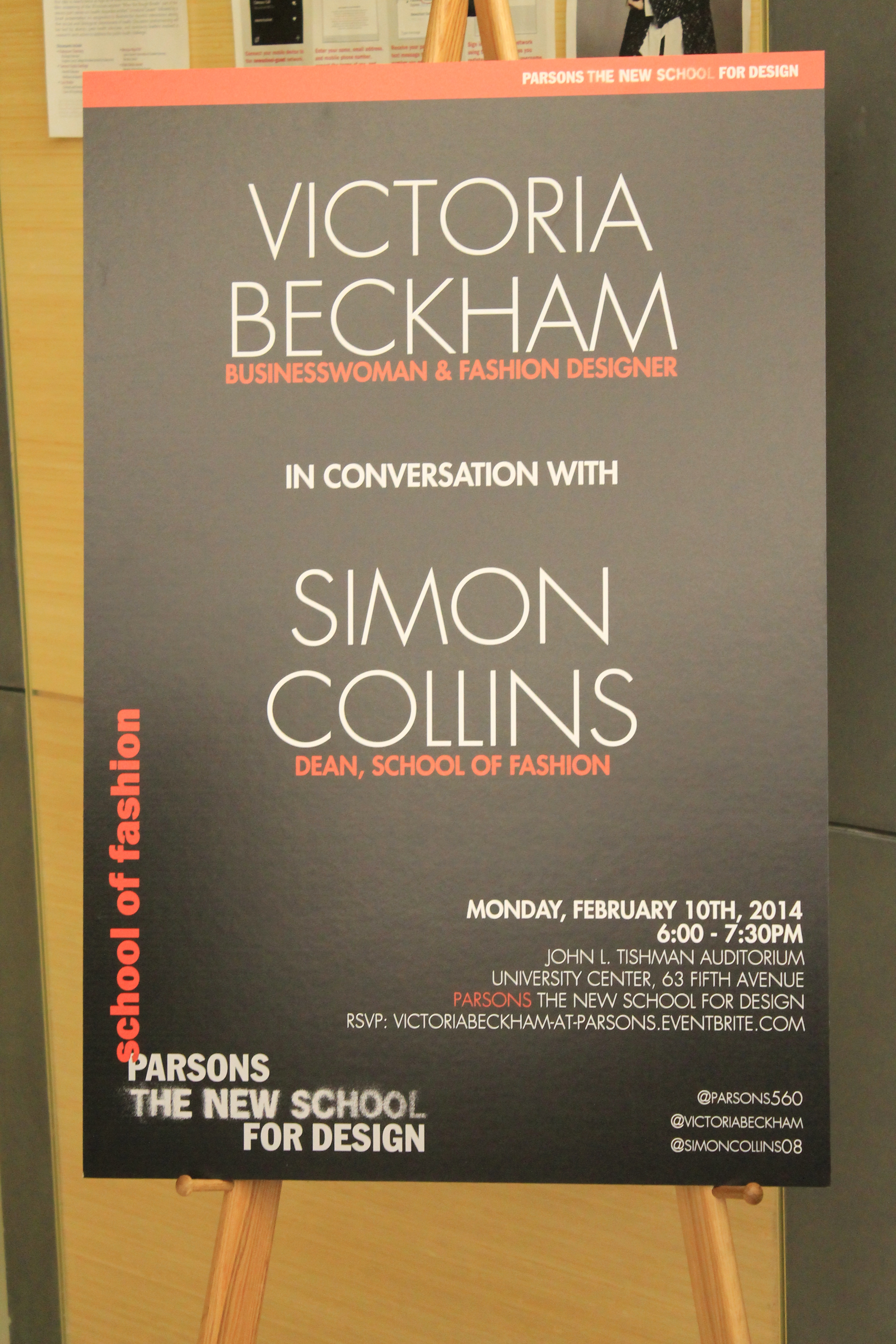 Simon Collins In Conversation With Victoria Beckham The New School Free Press