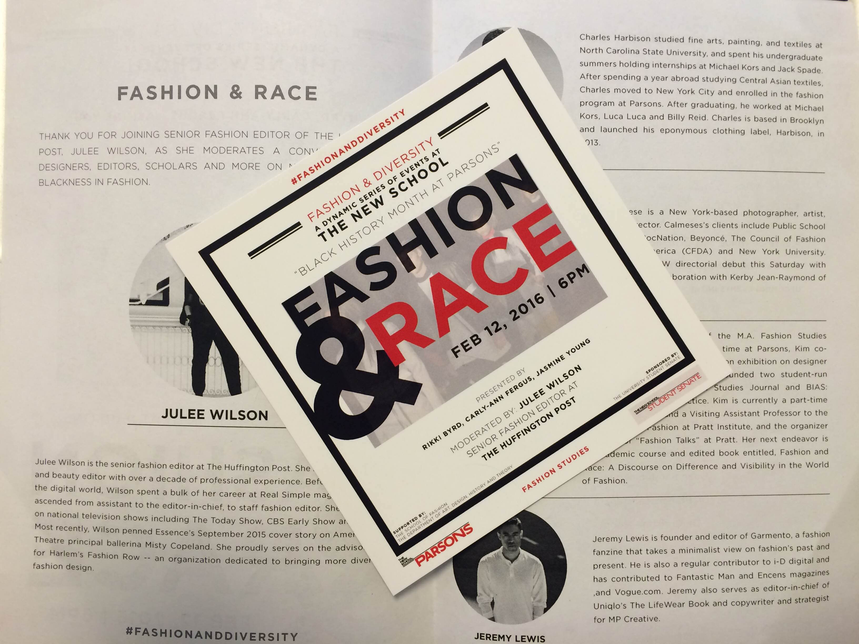 Panelists Discuss Fashion And Race In Today S Industry The New School Free Press