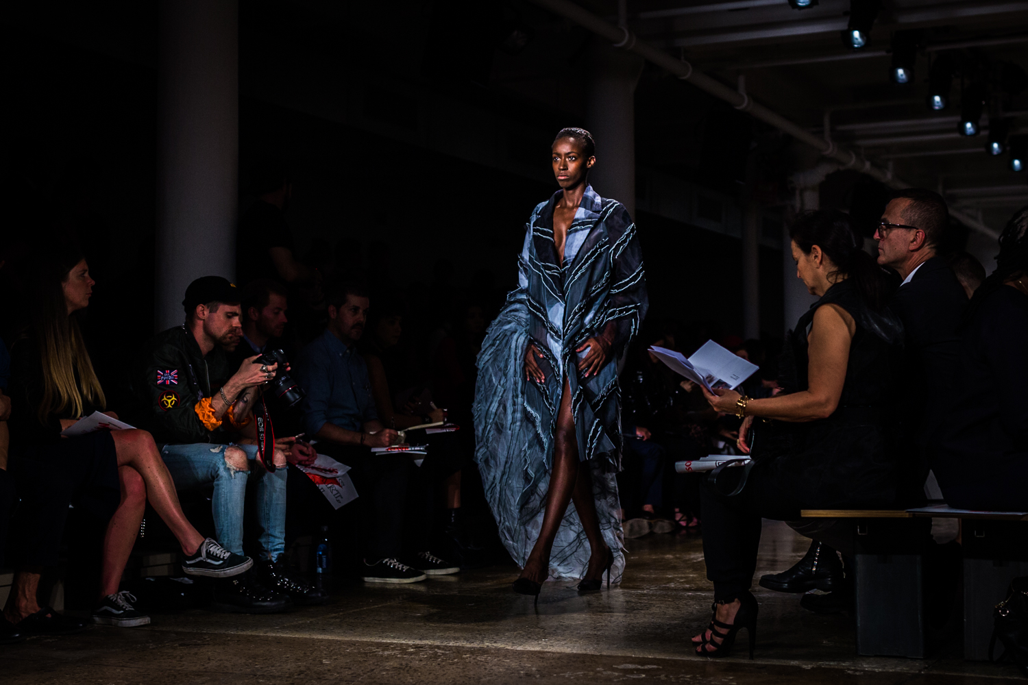 Fashion Week Launches With Parsons Mfa Student Showcase The New School Free Press
