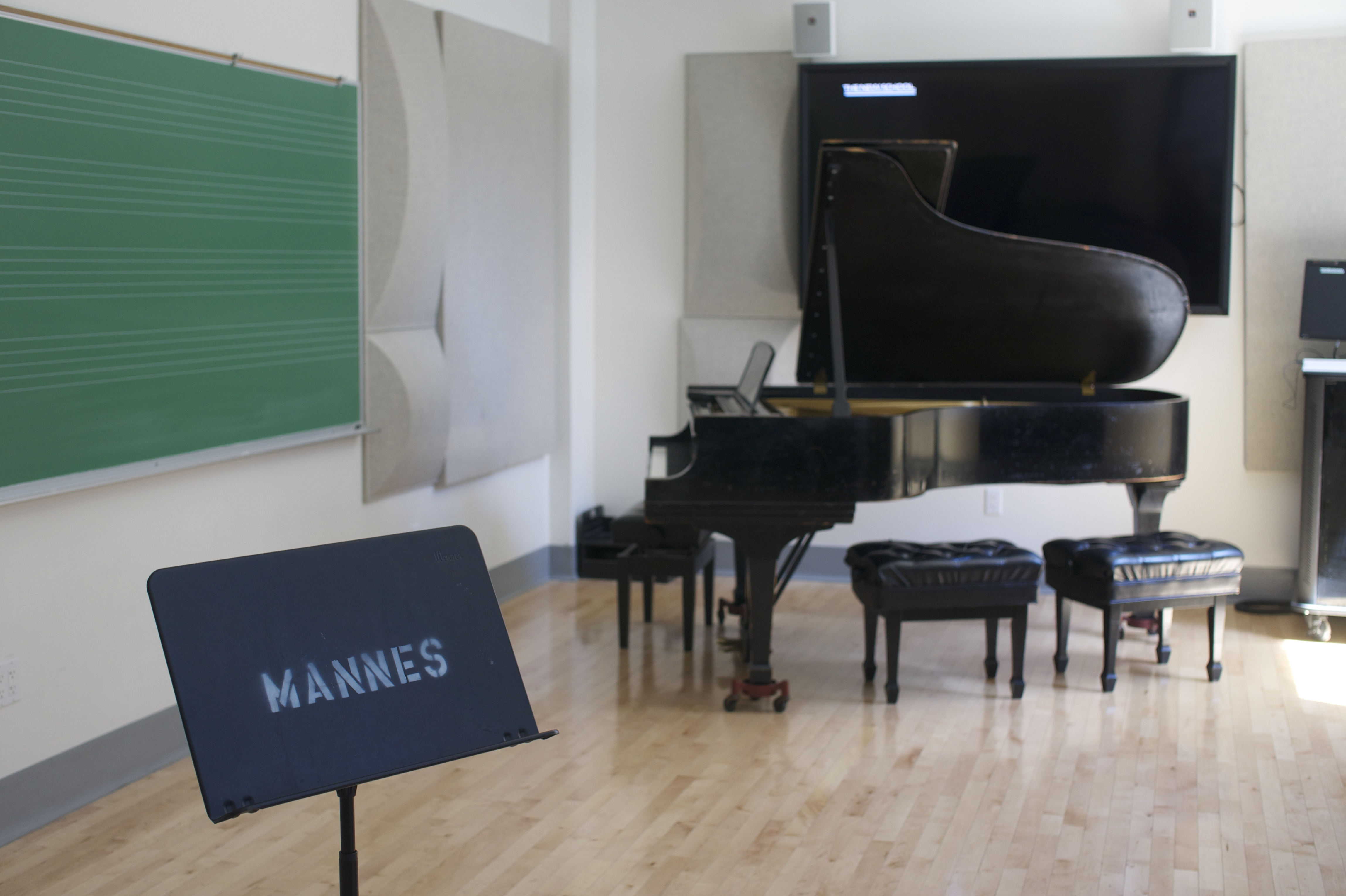 30 year old jazz school practice spaces require renovation