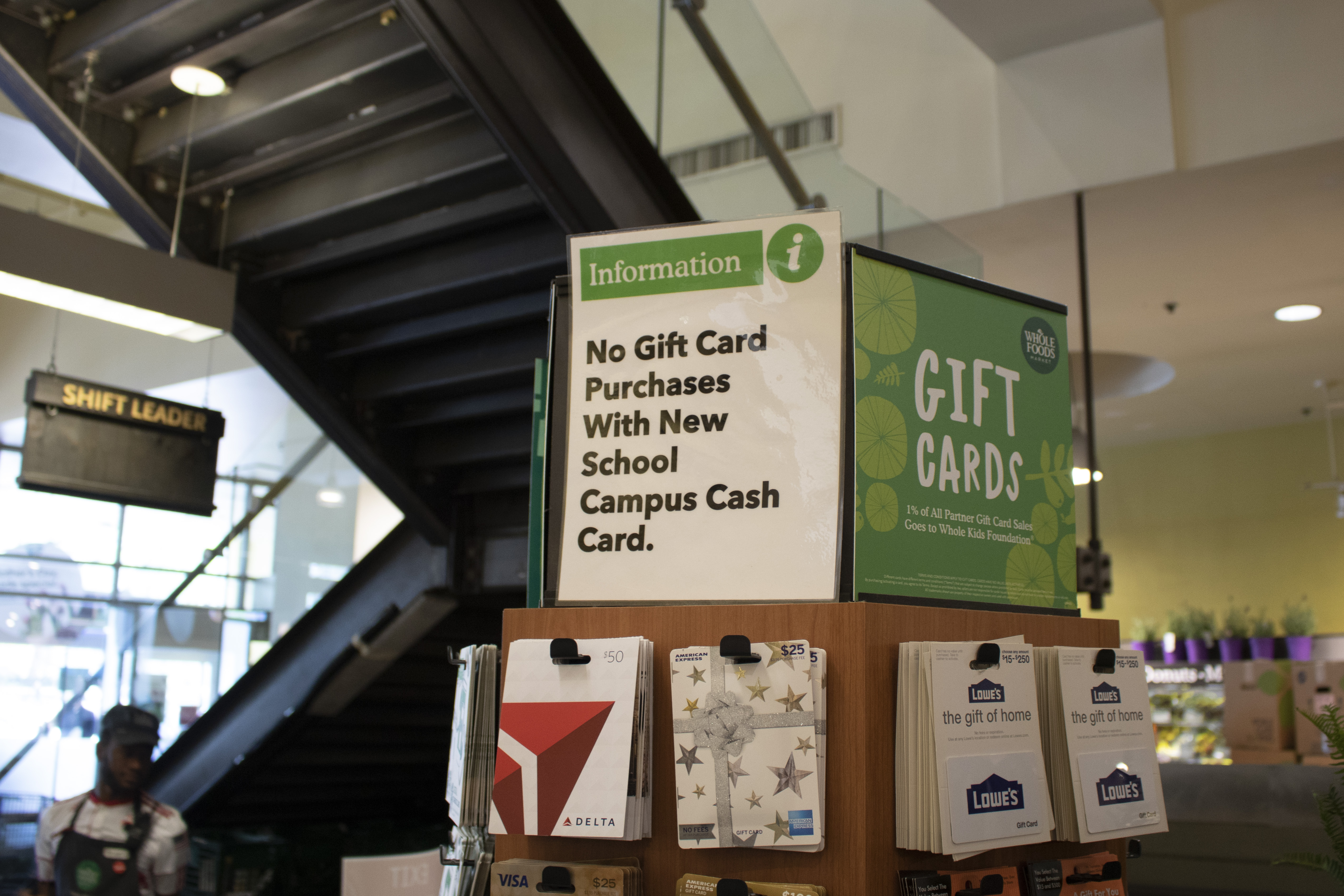 Students binged on gift cards for retailers like Uber and Nike, and Visa gift cards at Whole Foods last week, after Dining Dollars, the school's meal plan, ...